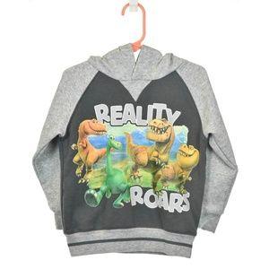 Disney Gray Good Dinosaur Graphic Hoodie